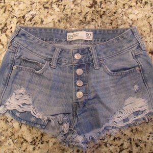 Abercrombie Distressed Stars & Stripes Shorts